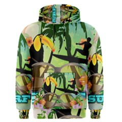 Surfing Men s Pullover Hoodies