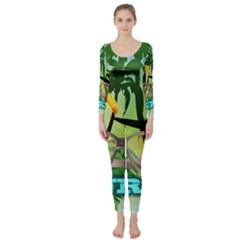 Surfing Long Sleeve Catsuit
