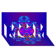 Abstract 5 MOM 3D Greeting Card (8x4)
