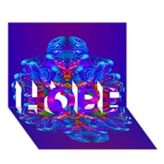 Abstract 5 Hope 3d Greeting Card (7x5)