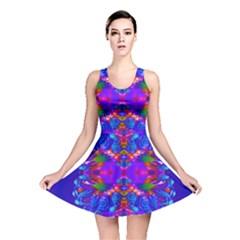 Abstract 5 Reversible Skater Dresses