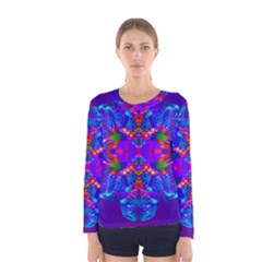 Abstract 5 Women s Long Sleeve T-shirts