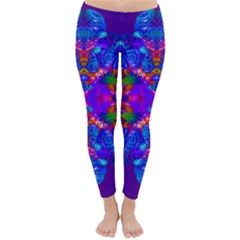 Abstract 5 Winter Leggings