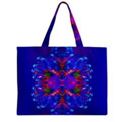 Abstract 5 Zipper Tiny Tote Bags