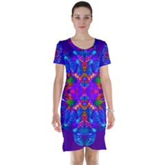 Abstract 5 Short Sleeve Nightdresses