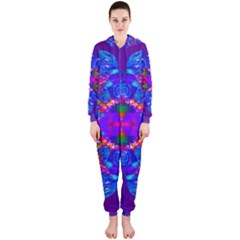 Abstract 5 Hooded Jumpsuit (Ladies)