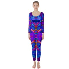 Abstract 5 Long Sleeve Catsuit