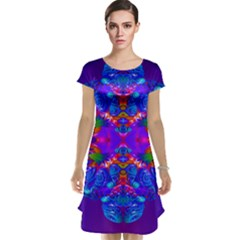 Abstract 5 Cap Sleeve Nightdresses
