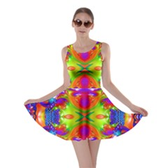 Abstract 6 Skater Dresses