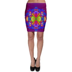 Abstract 6 Bodycon Skirts