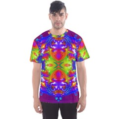 Abstract 6 Men s Sport Mesh Tees