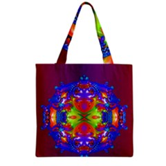 Abstract 6 Grocery Tote Bags