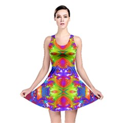 Abstract 6 Reversible Skater Dresses