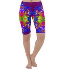 Abstract 6 Cropped Leggings