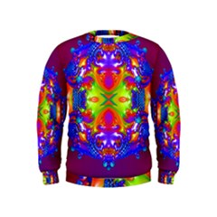 Abstract 6 Boys  Sweatshirts