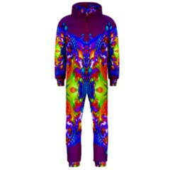 Abstract 6 Hooded Jumpsuit (Men)