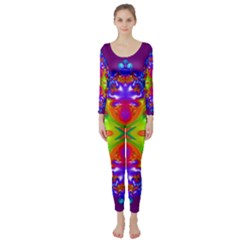 Abstract 6 Long Sleeve Catsuit
