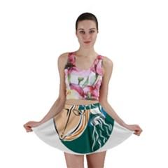 Aquarius Star Sign Mini Skirts