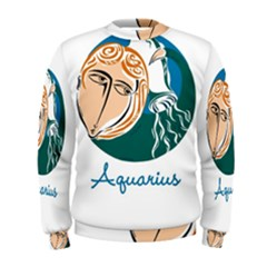 Aquarius Star Sign Men s Sweatshirts
