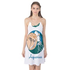 Aquarius Star Sign Camis Nightgown