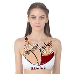 Gemini Star Sign Tank Bikini Top
