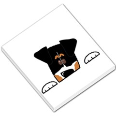 Peeping Bernese Mountain Dog Small Memo Pads