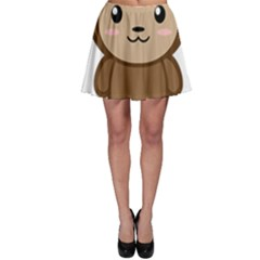 Kawaii Monkey Skater Skirts