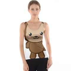 Kawaii Monkey Tank Tops