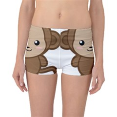 Kawaii Monkey Boyleg Bikini Bottoms