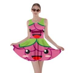 Raspberry Skater Dresses