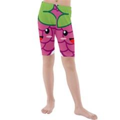 Raspberry Kid s Swimwear