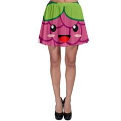Raspberry Skater Skirts