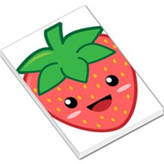 Kawaii Strawberry Large Memo Pads