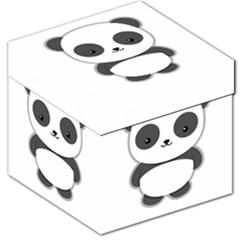 Kawaii Panda Storage Stool 12