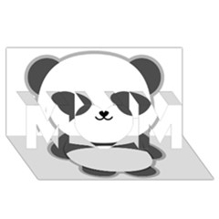 Kawaii Panda MOM 3D Greeting Card (8x4)