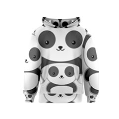 Kawaii Panda Kid s Pullover Hoodies