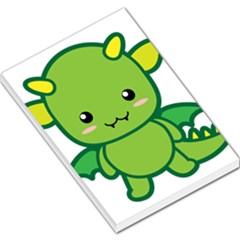 Kawaii Dragon Large Memo Pads