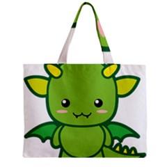 Kawaii Dragon Tiny Tote Bags