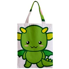 Kawaii Dragon Classic Tote Bags