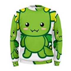 Kawaii Dragon Men s Sweatshirts