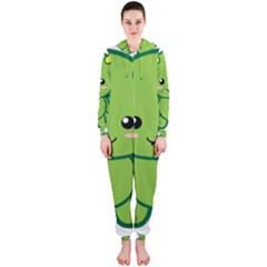 Kawaii Dragon Hooded Jumpsuit (Ladies)