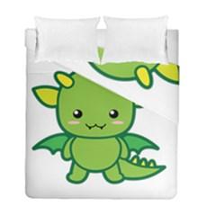 Kawaii Dragon Duvet Cover (twin Size)