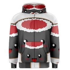 Kawaii Sushi Men s Zipper Hoodies