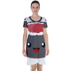 Kawaii Sushi Short Sleeve Nightdresses