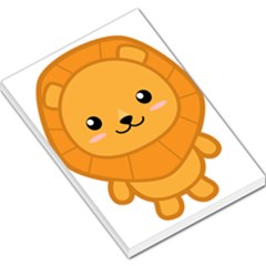Kawaii Lion Large Memo Pads