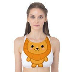 Kawaii Lion Tank Bikini Top