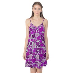 Sparkling Hearts Purple Camis Nightgown