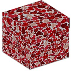 Sparkling Hearts, Red Storage Stool 12