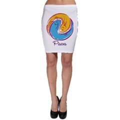 Pisces Star Sign Bodycon Skirts