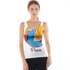 Pisces Star Sign Tank Tops